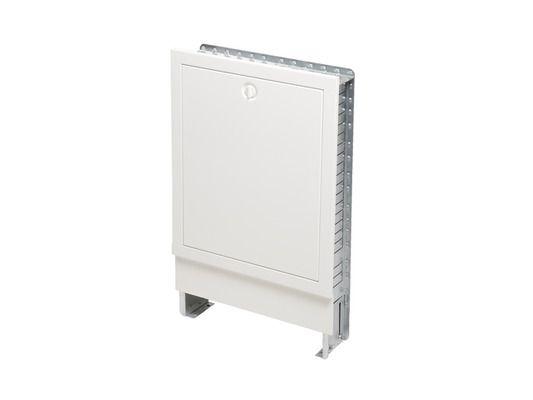 Tece Verteilerschrank Unterputz flach für bis zu 5 Heizkreise 600 mm