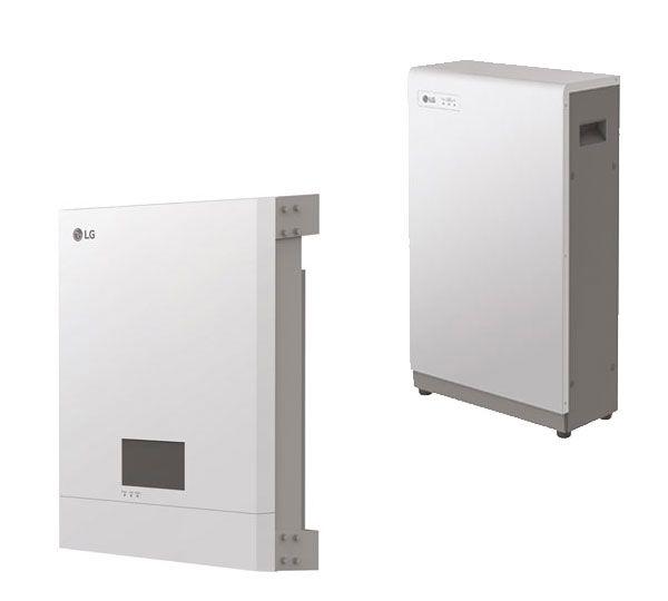 LG Energy Storage System 6,4 kWh Speicherset mit Wechselrichter