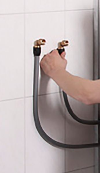 repaBAD Anschlusset für Brausearmatur zu Dusche auf Wanne