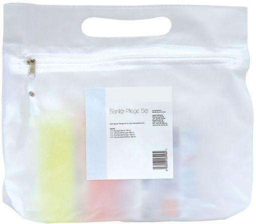 Pflege-Set je Flasche 100 ml Sanitärreiniger, Spiegelblank