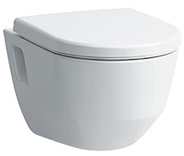 Laufen 2096.4 spülrandloses Pro Wand WC Tiefspüler weiss auch für Schraubenabstand 230 mm!