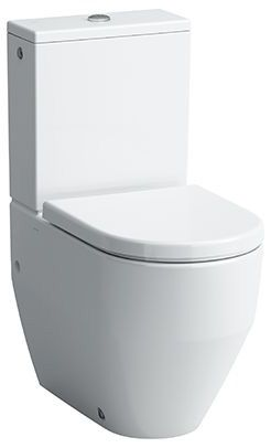 Laufen 2595.2 Stand-Tiefspül-WC PRO back-to-wall für Kombination