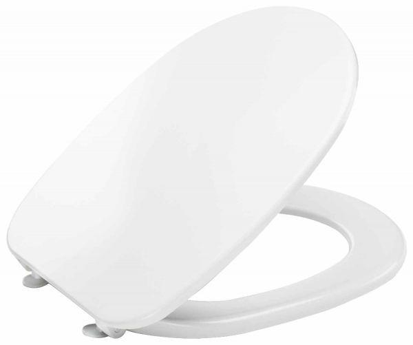 Alva WC Sitz mit Deckel Kunststoff mit Absenkautomatik