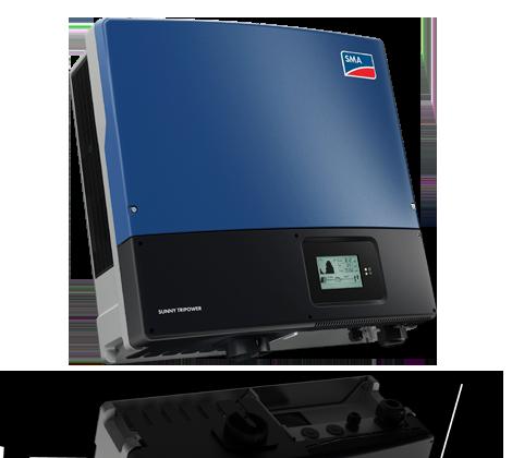 SMA Tripower STP15000TL-30 PV Wechselrichter mit Display
