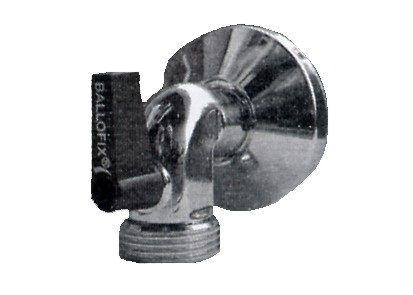 """Ballofix Geräte-Anschlusshahn 1/2"""" chrom"""