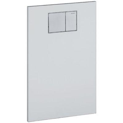 Geberit AquaClean Designplatte an Unterputzspülkasten Glas weiss, 115.324