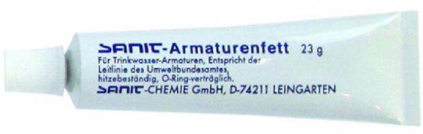 Armaturenfett für O-Ringe und Dichtungen, Trinkwasser-geeignet, Tube zu 23 Gramm