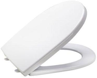 MKW WC-Sitz Aquila Plus m.Deckel mit Kunststoffscharnier weiss