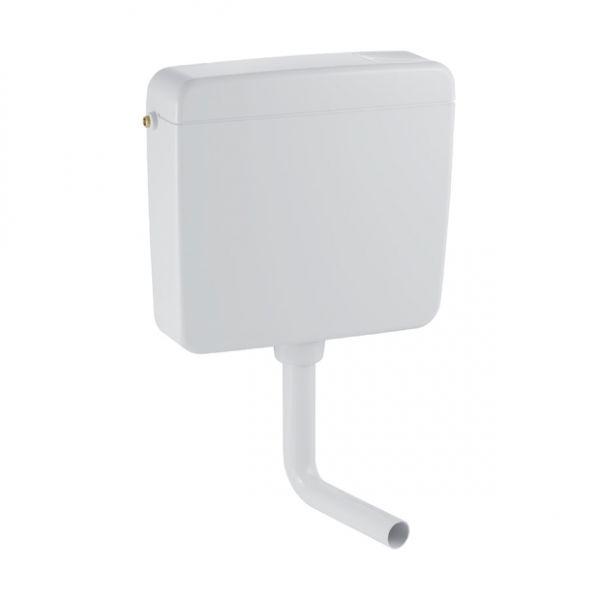 Geberit 127000 Spülkasten wandhängend Spül/Stopp, Kunststoff weiß