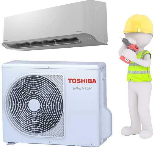 Toshiba Monosplit Klimagerät Set MIRAI 2,5kW mit Kälteleitung und Montage und Inbetriebnahme!