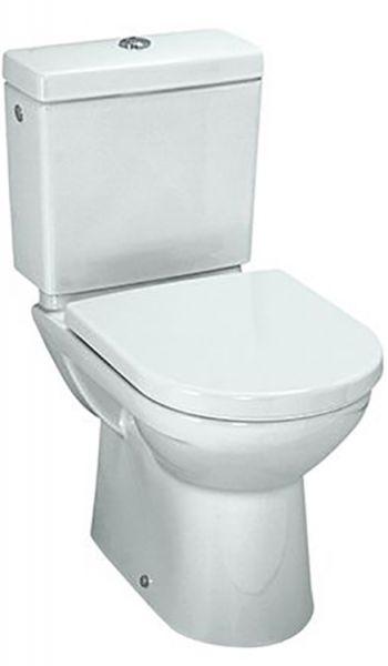 Laufen 2495.8 Stand-Tiefspül-WC PRO für Kombination Abgang variabel weiss
