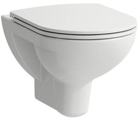 Laufen 2096.0 Pro Wand WC Tiefspüler spülrandlos weiß