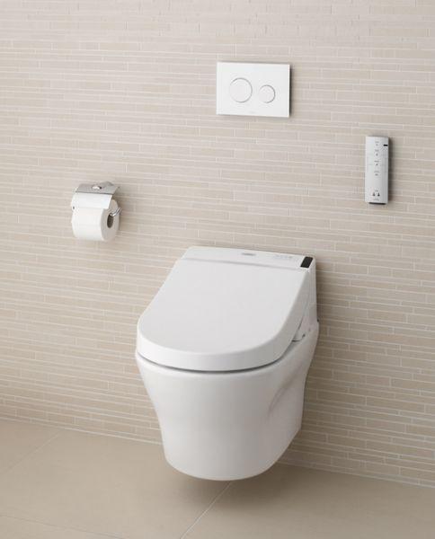 Toto Washlet GL2.0 Dusch-WC Set mit Wand-WC Tiefspüler MH Tornado Flush System weiß