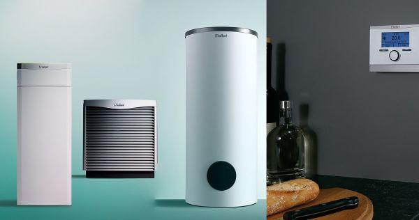 Vaillant VWF87/4 LW Luft/Wasser Wärmepumpenset