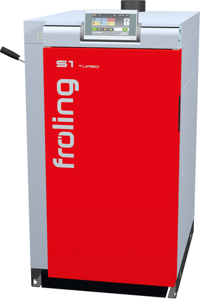 Fröling S1 15kW Scheitholzkessel Turbo inkl.WOS