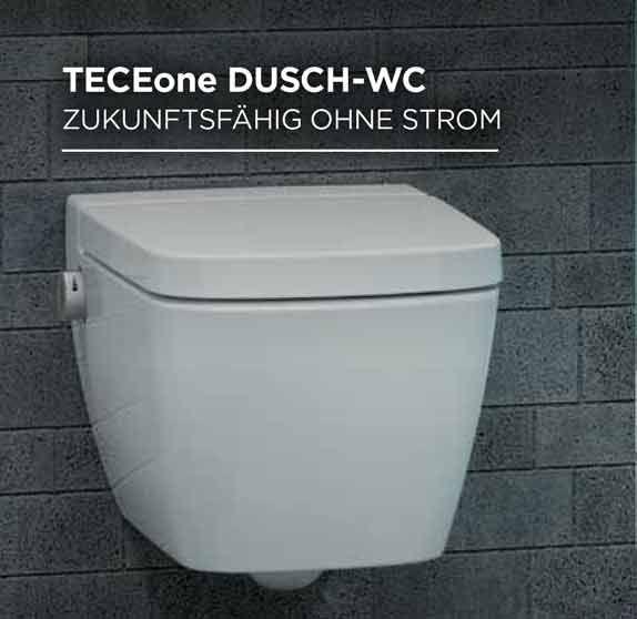 Tece One Dusch WC Wand WC mit Duschfunktion