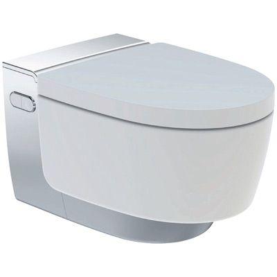 Geberit AquaClean Mera Classic Dusch WC Komplettset chrom Hochglanz, 146.200