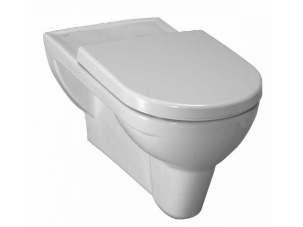Laufen 2095.3 Wand-Flachspül-WC Pro Ausladung 70cm weiss verlängert