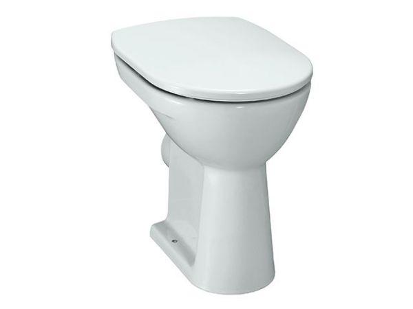 Laufen 2595.6 Stand-Flachspül-WC PRO weiss Abgang waagrecht erhöht