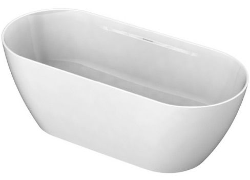 Freistehende Badewanne,freistehend, Mineralgußwanne