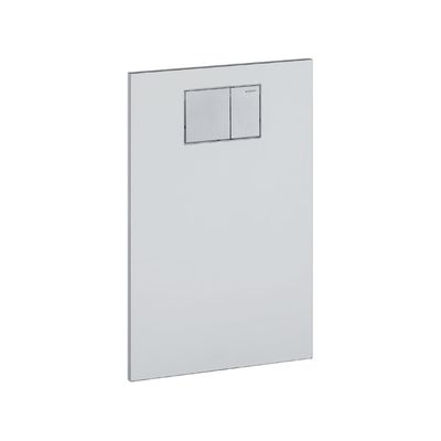 Geberit Aqua Clean Designplatte an Unterputzspülkasten weiss, 115.322